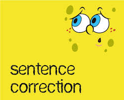 English Sentence Correction