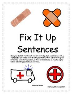 Fix My Sentence