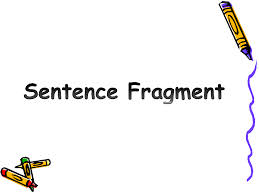 Sentence Fragment Checker