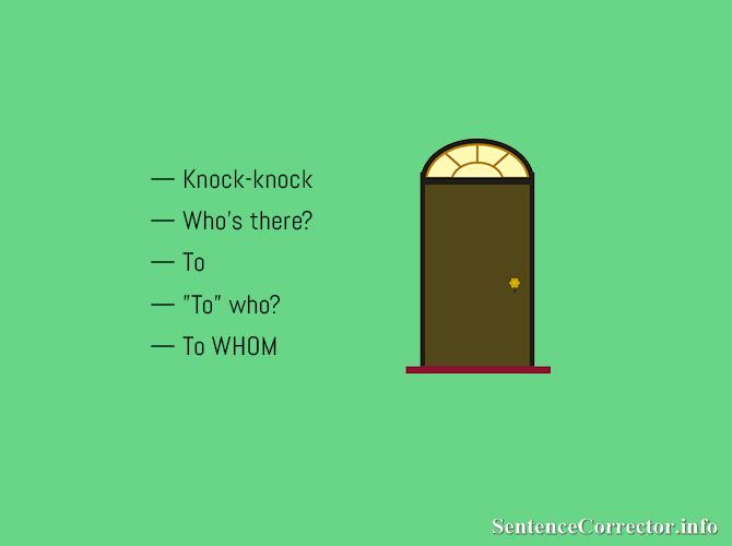 grammar jokes in English