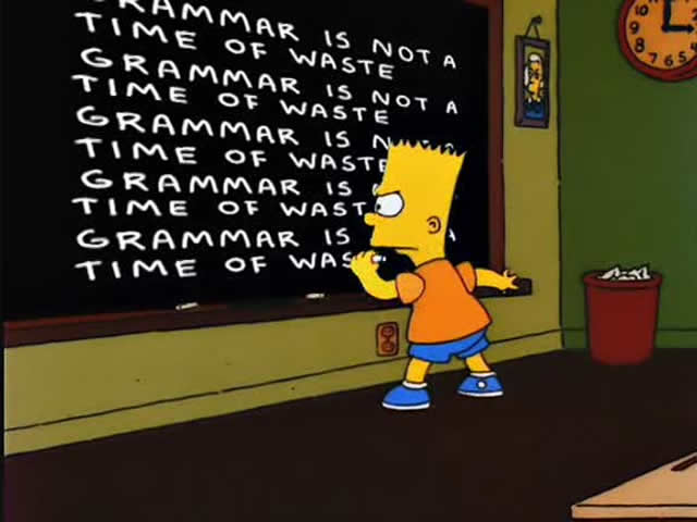 essential grammar rules
