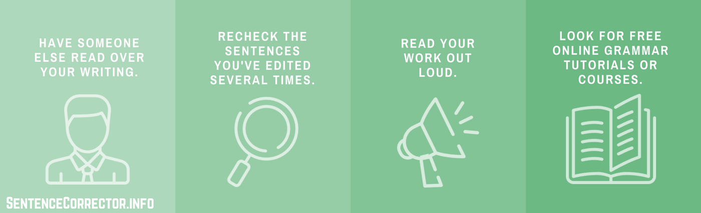how to avoid grammar mistakes steps