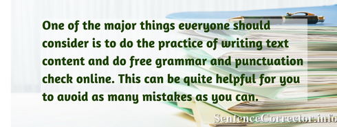 free grammar and punctuation check online